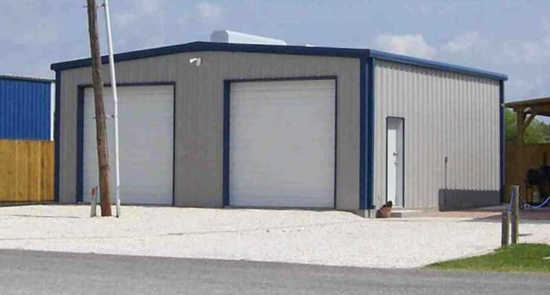 Garages, Workshops Residential or Commercial, Texas Metal Buildings delivers