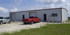 AK, LA,WV,VA,MS,TX,Commercial Steel Building Workshop