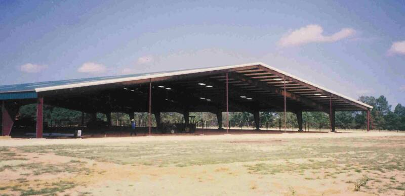Steel Clear Span Riding Arena